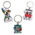 Custom Full Color Custom Keytag Keychain (1-1/4