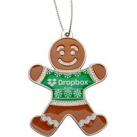 Gingerbread Man Holiday Ornament