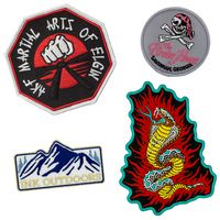 "Embroidered Patch (2"") - 100% Thread Coverage"