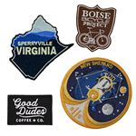 Custom Embroidered Patches (2 1/2
