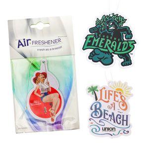 Paper Air Fresheners Custom Shape w/ Stock Retail Card