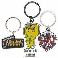 "Custom Die Struck Iron Key Tag (1 1/4"")"