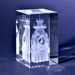 Custom Crystal Desktop Award - Rectangular Block (2.375