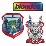 Custom Pin Pointe Full Color Embroidered Patch (4-1/2