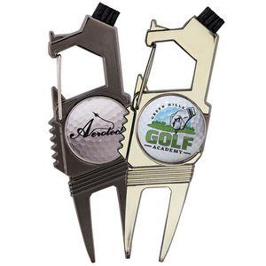Golf n Brew 2-Prong Divot Repair Multi-Tool
