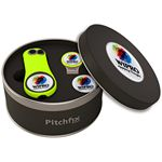 Custom Pitchfix Fusion 2.5 Golf Divot Tool Deluxe Hat Clip Gift Set