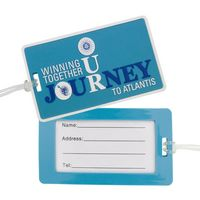 PVC Luggage Tag w/ Paper Insert