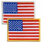 Custom American U.S. Flag Patch - Embroidered