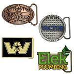 Custom Belt Buckles - Die Cast (2 1/2