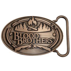Die Cast Belt Buckle Antique Copper