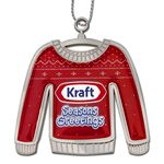 Custom Ugly Sweater Christmas Holiday Ornament