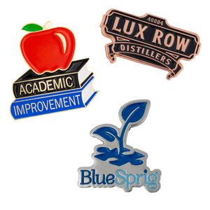 Custom Lapel Pins - Die Struck Brass Soft Enamel (1)