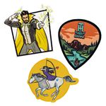 Custom Custom Pin Pointe Full Color Embroidered Patch (2-1/2