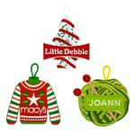 Custom Custom Embroidered Ornaments