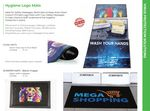 Custom Hygiene Logo Mats Stock Designs