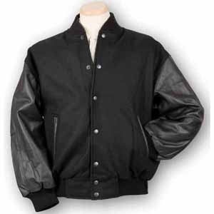 Wool & Leather Varsity Jacket