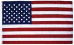 Custom Nylon I Embroidered Stars and Sewn Stripes Flag (3'x5')