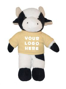 Soft Plush Cow with Tee 8