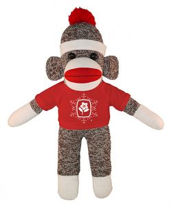 Original Sock Monkey (Plush) with Tee 10
