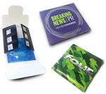 Custom Printed Condom Wallet w/ Condom and Instructions