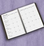 Custom Wire Bound Academic/Fiscal Monthly Planner