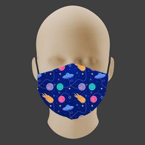 Childrens Face Mask - Cotton Liner - Filter Pocket