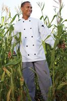 White Long Sleeve Chef's Coat (2XL-3XL)