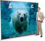 Custom Jumbo Wide Retractor Banner Display