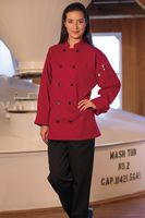 Red Long Sleeve Chef