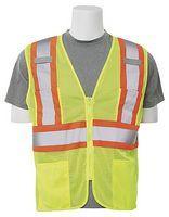 High Visibility Safety Vest - Contrasting Trim
