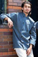 Denim Chambray Chef Coat (XS-XL)