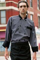 Newport Color Custom Trim Chef Coat (2XL-3XL)