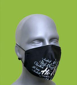 Adult Mask - Antibacterial Polyester Liner - Filter Pocket