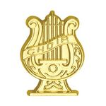 Choir Bright Gold Chenille Lapel Pin