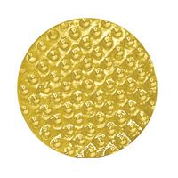 Golf Ball Bright Gold Chenille Lapel Pin
