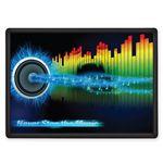 Vibraprint™ Dash Plaque w/ Trim & Poly Dome (2-5/8