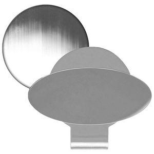 Silver Golf Hat Clip w/ Ball Marker