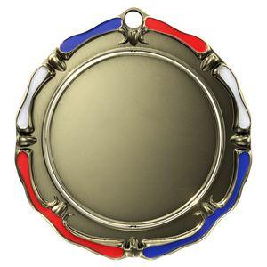 Custom Antique Red, White & Blue Spinner Insert Medallion (3