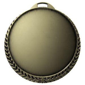 Custom Antique Laurel Leaf Insert Medallion (2-1/4