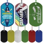 Custom Express Vibraprint Anodized Dog Tag