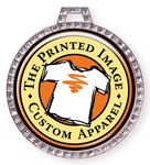 Custom Vibraprint Bright White GEM Insert Medallion (2-1/4