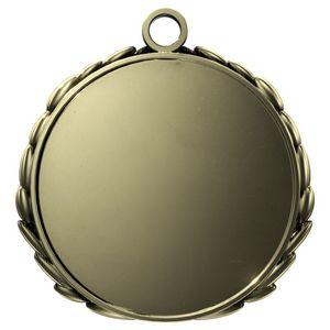 Custom Antique 3D Wreath Insert Medallion (2-1/2