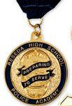 Custom Custom Power Stamped Brass Medallions (2
