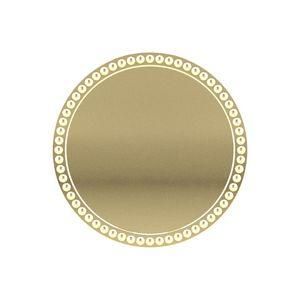Round Decorative Boarder Lapel Pins w/ Military Clutch (1