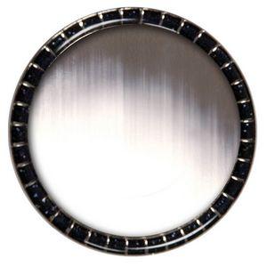 Round Glitter Lapel Pins (1-3/16