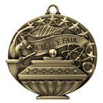 Custom Science Fair Academic Performance Medallion