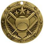 Custom 3'' World Class Softball Medallion