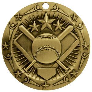 3 World Class Softball Medallion