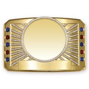 Custom Bright Glitter Belt Buckle (4
