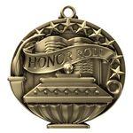 Custom Honor Roll Academic Performance Medallion